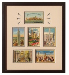 New York City Framed Vintage Postcards