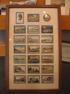 Lake Winnipesaukee Framed Vintage Cards