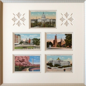 Montage of Washington DC Postcards