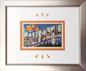 California Large Letter Postcard