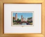 NYC Central Park Framed Postcard