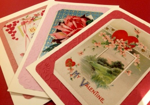 Valentine Day Greeting Cards, hand made